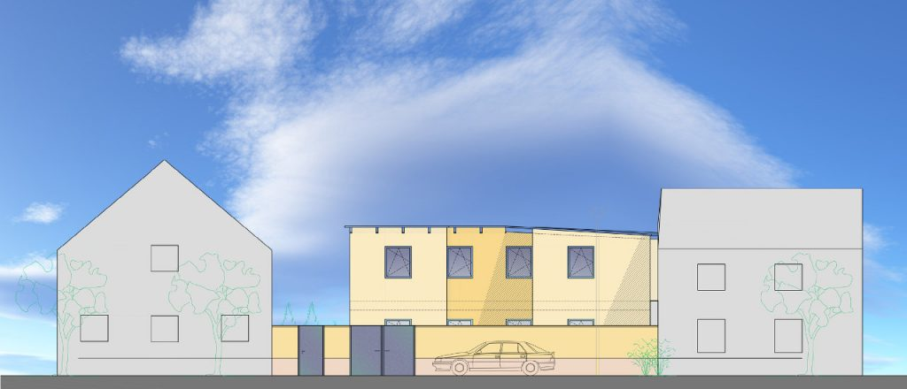 Projekt Wohnen-Referenz - Einfamilienhaus in Hahnisch