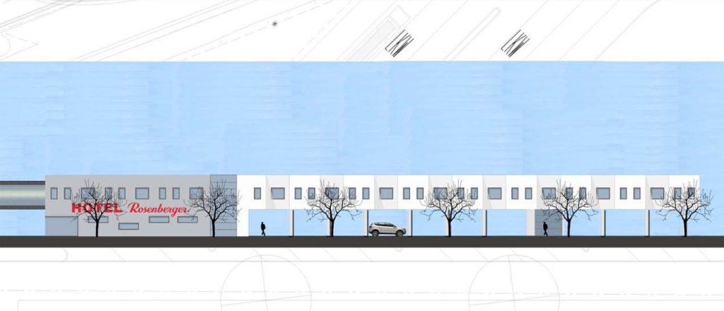 Projekt Gewerbe-Referenz - Hotel an A8