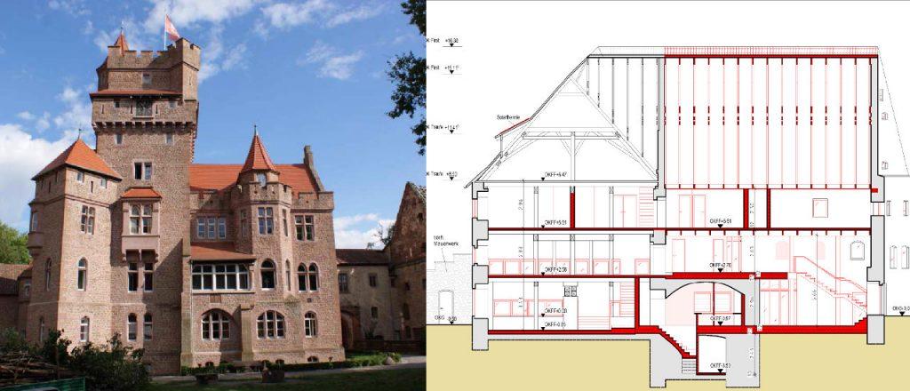 Projekt Gewerbe-Referenz - Altenhausen Schloss