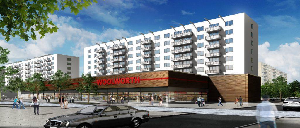 Projekt Gewerbe-Referenz - Woolworth Magdeburg