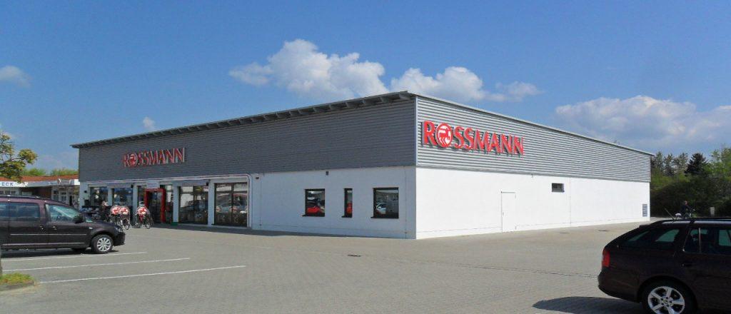 Projekt Gewerbe-Referenz - Rossmann in Herzberg