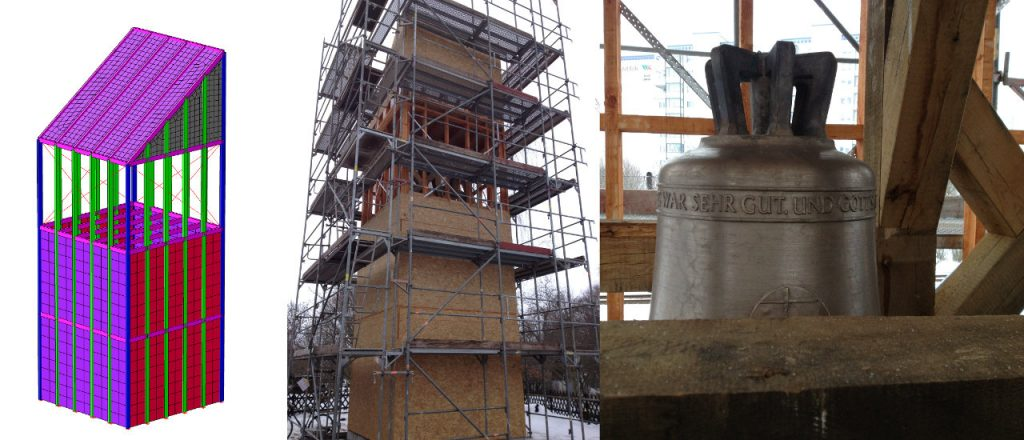 Projekt Ingenieurbau-Referenz - Glockenturm