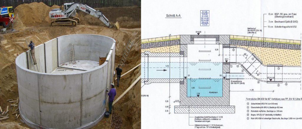 Projekt Ingenieurbau-Referenz - Schächte