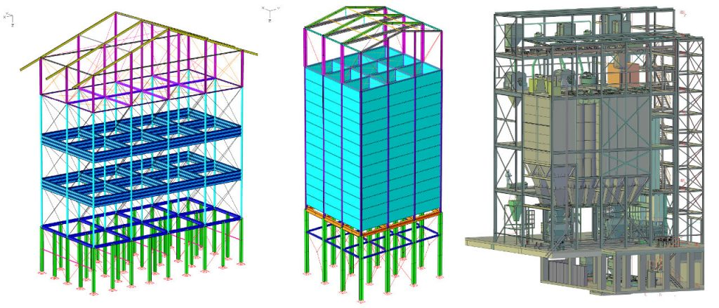 Projekt Ingenieurbau-Referenz - Silos
