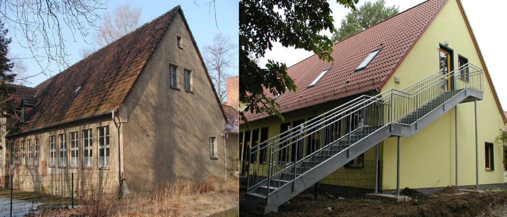 Projekt Öffentliche-Bauten-Referenz - Kita in Biederitz
