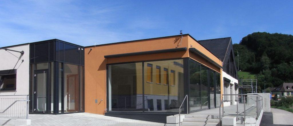 Projekt Öffentliche-Bauten-Referenz - Mehrzweckhalle in Kirchberg