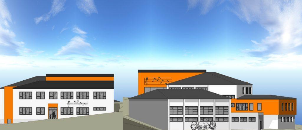 Projekt Öffentliche-Bauten-Referenz - Schule in Steinakirchen