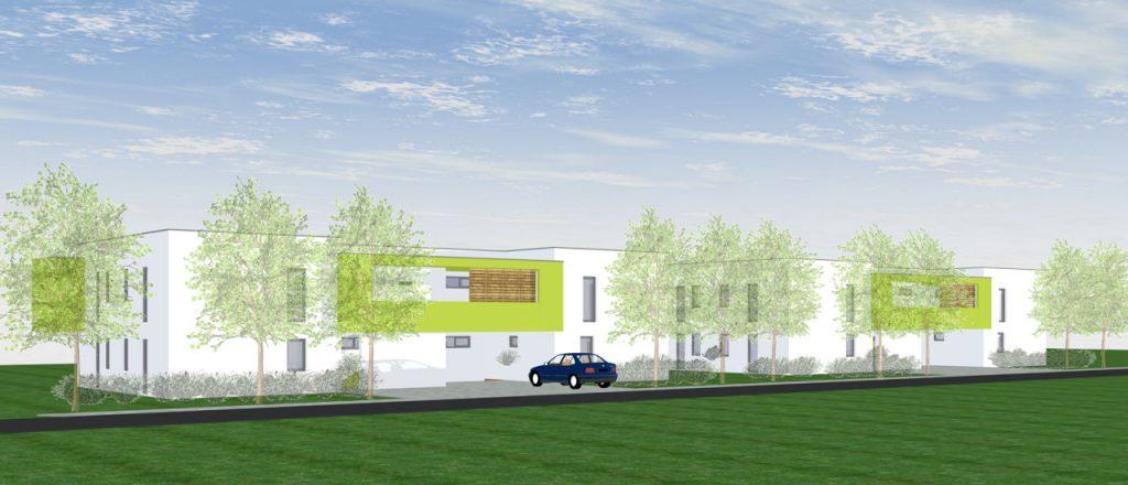 Projekt Wohnen-Referenz - Mehrfamilienhaus Neumarkt