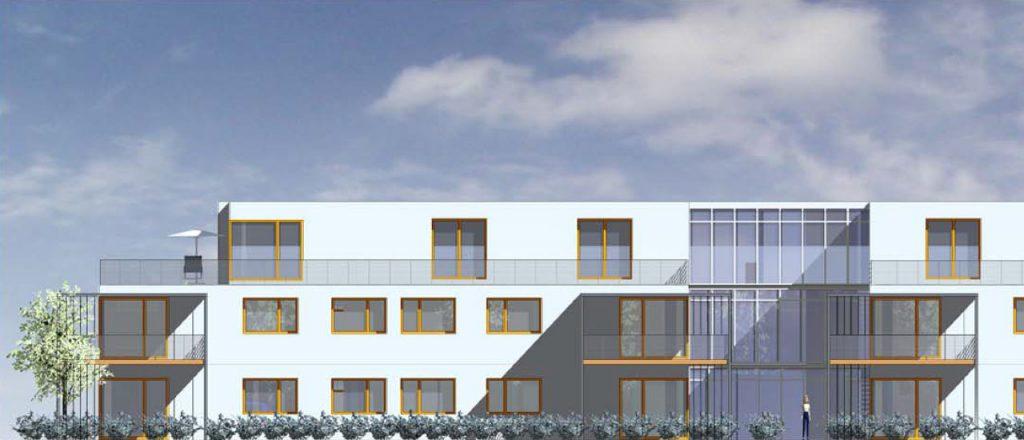 Projekt Wohnen-Referenz - Kirchberg Mehrfamilienhaus